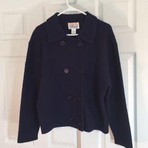 Tally-Ho Navy wool jacket
